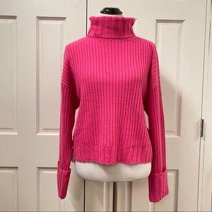 Nine West Rib Turtleneck Sweater